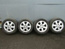 Vauxhall Opel Vectra C 02-05 alloy wheels wheel x4 set + 215 55 16 tyres 6Jx16
