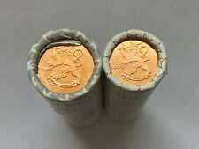 Finland 1 and 2 Euro Cent 1999 Coin Rolls 2x50 Pcs. - UNC - SCARCE!!!