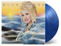 DOLLY PARTON - BLUE SMOKE LTD TRANSPARENT BLUE BLACK VINYL LP MOVLP1105C