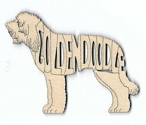 Golden Doodle Dog laser cut Magnet