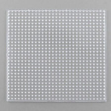 🎀 3 FOR 2 🎀 Clear Transparent Square Board for Hama Fuse Beads 14 cm