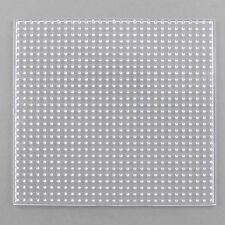 Tablero cuadrado clara transparente para Fusible Hama Cuentas 14 cm comprar 3 para 2