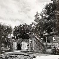 Villa Vizcaya Water Stairway Miami Fl Photo Architecture 11x14 Matted Chaflin