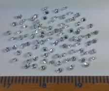 0.008CT loose diamond 1.25MM F VS synthetic HPHT CVD LGD Lab Grown Diamond