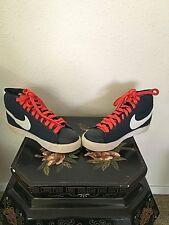 Retro Nike SB Blazer Mid Blue/Orange Size 7.5US Style#3166614-411 Release 07