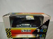 POLISTIL E2024 ALFA ROMEO ALFETTA GTV TURBO - BLEU 1:40 - EXCELLENT IN BOX