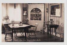 RPPC,Hopkinton,NH.Hopkinton Inn,Dining Room,Merrimack County,c.1915-20s
