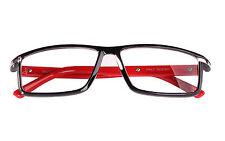 Agstum Women Men Full Rim Rectangle Reading Glasses Readers +1 +1.5 +2 +2.5 +3