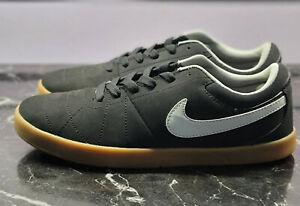 Nike SB Rabona LR Skateboard Athletic Shoes, Size 11.5, Black/White-Gum Brown