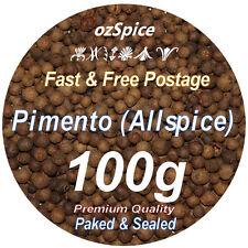 Allspice Whole 100g Pimento, Jamaica pepper, Myrtle pepper - ozSpice