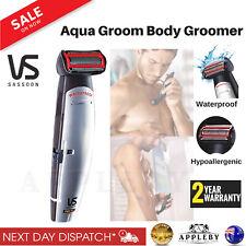 Waterproof Body Shaver Mens Body Groomer Cordless Shower Hair Trimmer Wet Dry