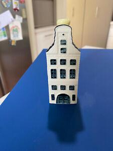 KLM Bols Miniature Blue Delft House #42 Holland 2014 Sealed