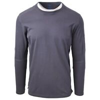 Kuhl Men's Carbon Bravado Born In The Wild L/S T-Shirt (Retail $50)