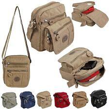 Bag Street kleine Damen Handtasche Schultertasche Herren Umhängetasche Nylon2225