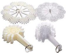 Arte en Uñas Puntas Herramientas de diseño de placa de Ventilador palos de práctica falso pantalla rueda Hot UK