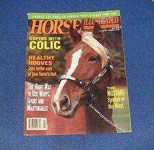 HORSE ILLUSTRATED MAY 1994 - THE MUSTANG - SYMBOL OF THE WEST/COPING WITH COLIC