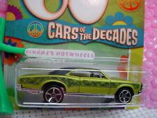 2011 Walmart Exclusive ☆60s Cars Decades #13 '67 PONTIAC GTO ☆Green☆Hot Wheels