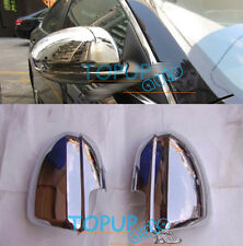 FIT FOR MAZDA 2 3 2009-2012 DOOR SIDE WING MIRROR CHROME COVER REAR VIEW CAP