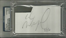 Lil Wayne YOUNG MONEY THE CARTER Signed 3x5 Index Card PSA/DNA Slabbed #2