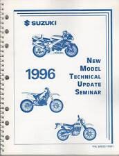 1996 Suzuki Motorcycle & Atv Technical Update Manual