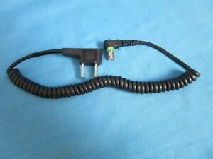 ROLLEI Brand Coiled Flash Cord exactly as Shown -Never Used Vintage Rollei Cord