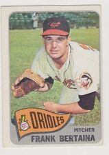 1965 Topps #396 Frank Bertaina - Baltimore Orioles, Excellent Condition.
