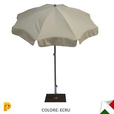 Maffei ombrellone palo centrale Borgo Art.12 ecru poliestere d. 200 cm