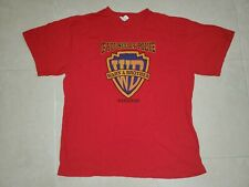 Vintage If you See Da Police Warn a Brother Red SHIRT Bahamas XL Funny 90s