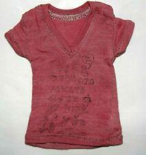 New listing Rare Msd Unoa Bjd Pink Tee Shirt By Designer Mio Fits Minifee E.C