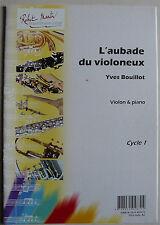 """""""L'aubade du violoneux"""", partition pour violon et piano"""
