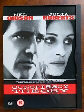 Conspiracy Theory DVD 1997 Thriller Film Movie w/ Mel Gibson In Snapper Case