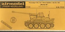 """AIRMODEL PRODUCTS AM-1032 - PANZERJAGER 38(t) FUR 7.62cm """"MARDER III"""" 1/35 RESIN"""