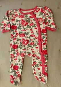 Betsey Johnson 2 One Piece footed Pajama Sleeper 9 months