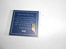 Semicolon - Brushed Gold Keep Collective Keys Symbol (new)