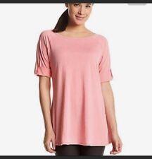 Calvin klein regular PERFORMANCE top Yoga stretch shirt sz S NEW $49