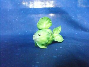 Enesco Home Grown Brussel Sprout Fish Figurine #4009280 green Collectible 2007