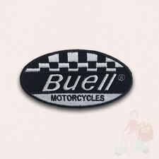 Buell Motorcycles Motorsports racing biker badge Iron Sew on Embroidered Patch