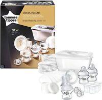 Tommee Tippee Breast Feeding Kit Breast pump  manual starter kit