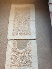2 Piece Bath mat & Pedestal set House And Home Make
