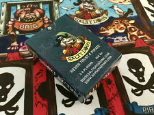 SIMON BISLEY Salty Dogs   card game  80 cards Prototype + 4 play mats
