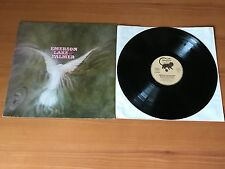 "EMERSON LAKE & PALMER 87 224 ET : GERMAN 12"" VINYL LP -PRO CLEANED & PLAYS GREAT"