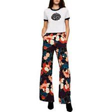 BCBGeneration Multicolor Floral Flare Pants Size S