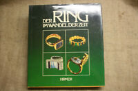 Fachbuch Goldschmied, Ringe von Antike bis heute, Schmuck, Juwelier, 1981