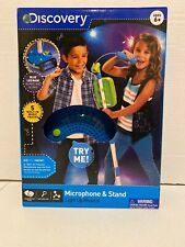 Discovery Kids Microphone and Stand New Light Up Musical