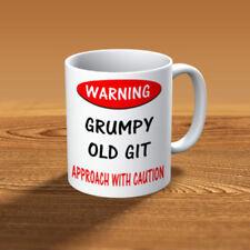 Avvertenza scontroso Old Git-tazza divertente-spedizione veloce e gratuito
