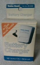 Radio Shack Battery Charger Power Supply 23-249  V 18 / 50 mA BRAND NEW in BOX