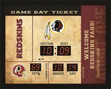 Washington Redskins Bluetooth Scoreboard Wall Clock Free Shipping
