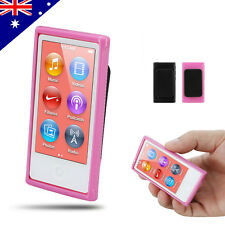 Belt Clip Soft Gel TPU Case Cover for iPod Nano 7 7G 7th Gen Skin Sprot Gym Run