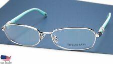 NEW TIFFANY & Co TF 1074-B 6001 SILVER EYEGLASSES GLASSES 54-16-135 B31mm Italy