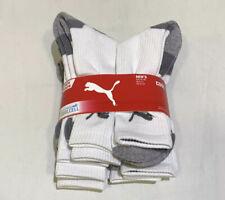 8 Pairs PUMA Men's All Sports Socks, CoolCell Crew Socks Size 9 - 11  U.K.